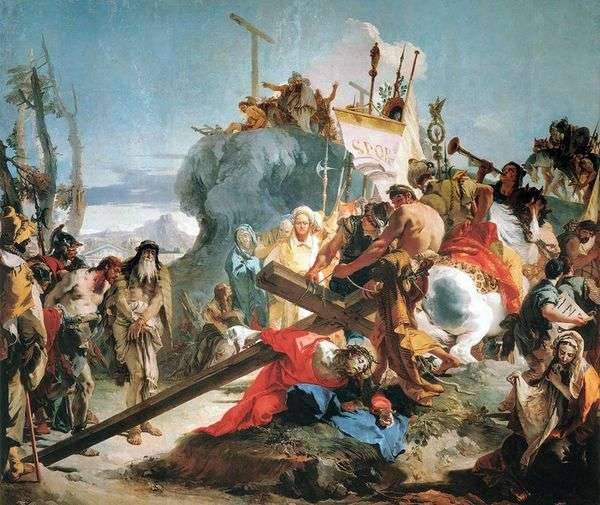 十字架を担う   Giovanni Battista Tiepolo