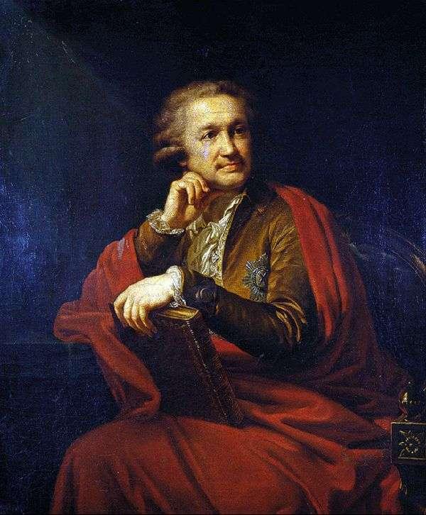 A. S. Stroganov   Johann Baptist Lampiの肖像