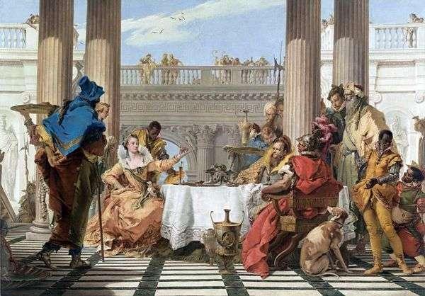 クレオパトラの饗宴   Giovanni Battista Tiepolo
