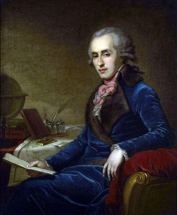Zubov P. A   Johann Baptist Lampiの肖像