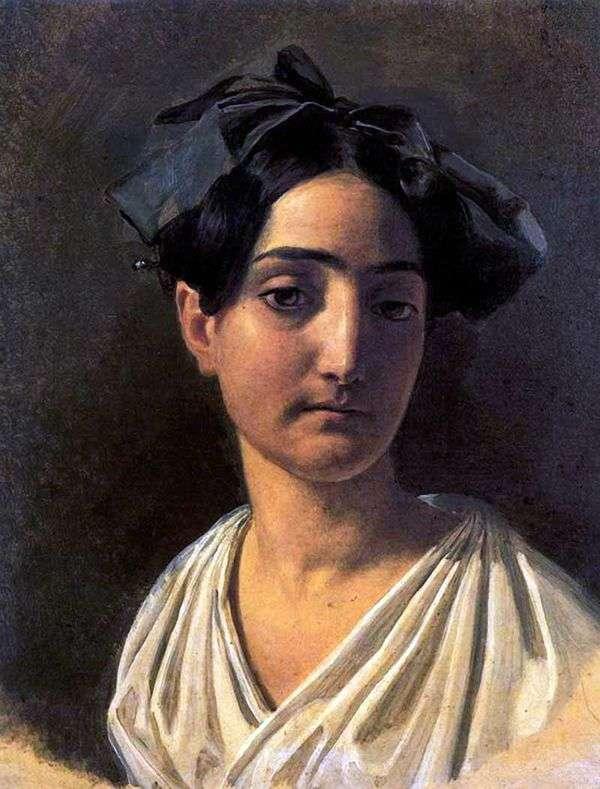 Vittoria Caldoni Lapchenko   Alexander Ivanovの肖像
