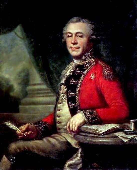 I. L. Lazarev   ヨハンバプテストランピの肖像