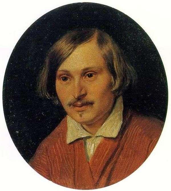 N. V. Gogol   Alexander Ivanovの肖像