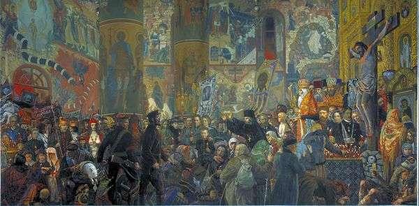 復活祭の夜に寺院のルート   イリヤ・グラズノフ