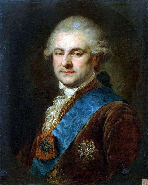 スタニスラフ   アウグストゥスPoniatowski   ヨハンバプテストランピの肖像