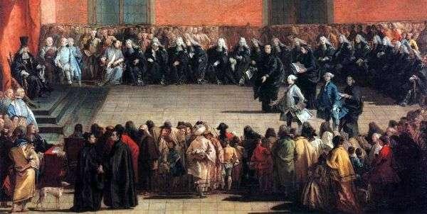 アリーナミーティング   ジョバンニバッティスタティエポロ