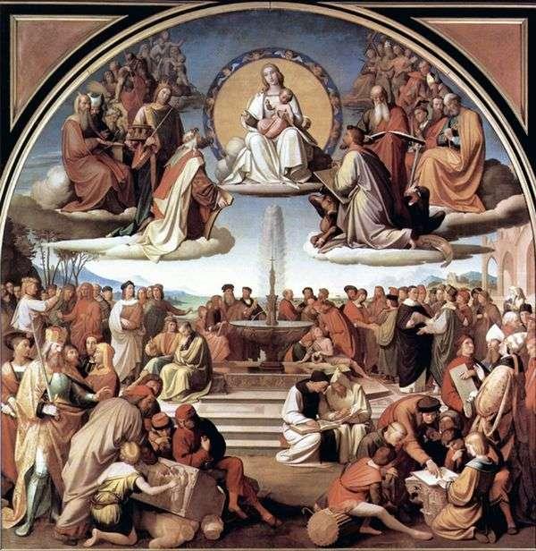 芸術における宗教の勝利   Johann Friedrich Overbeck