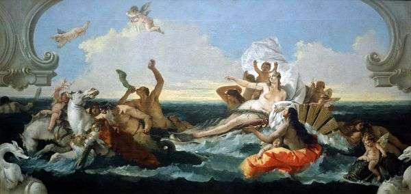 アンフィトリテの勝利   Giovanni Battista Tiepolo