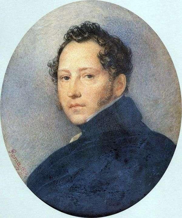 S. F. Shchedrin   Karl Bryullovの肖像画