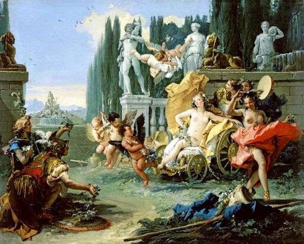フローラの勝利   Giovanni Battista Tiepolo