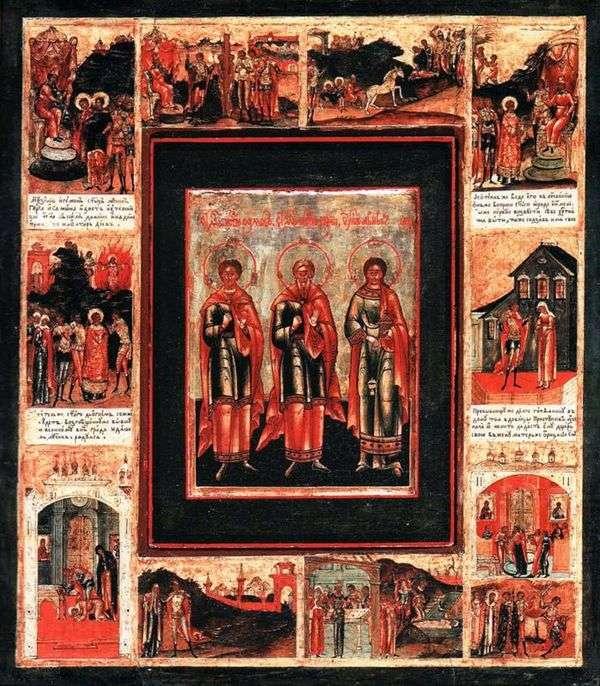 聖切士のグリィ、サモン、そしてアビブは、切手10枚で生計を立てる