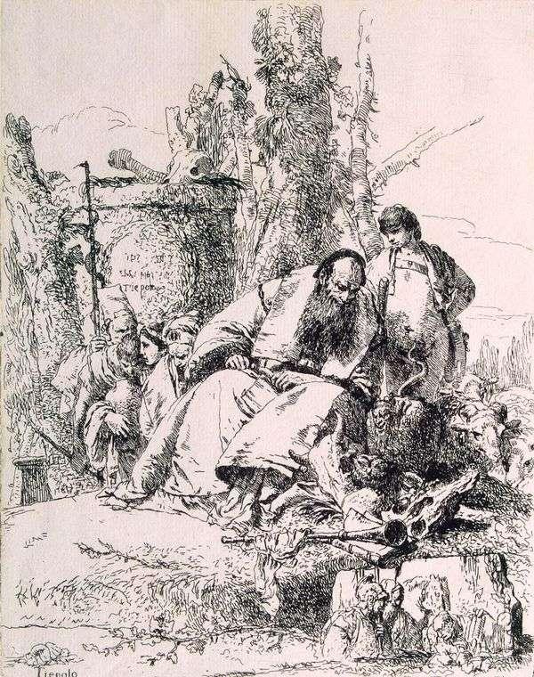 スカルウィザード   Giovanni Battista Tiepolo