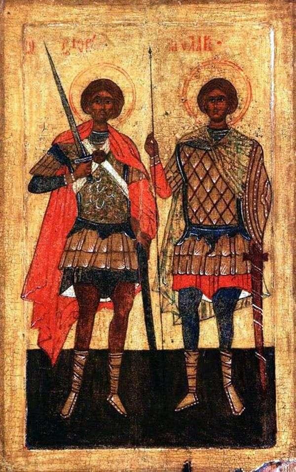 戦士としての聖人フロールとローラス