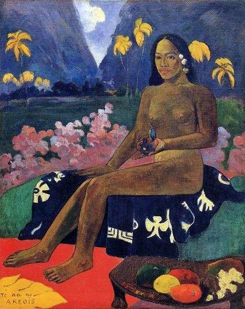 テ・ア・ノー・アレオイ   Paul Gauguin