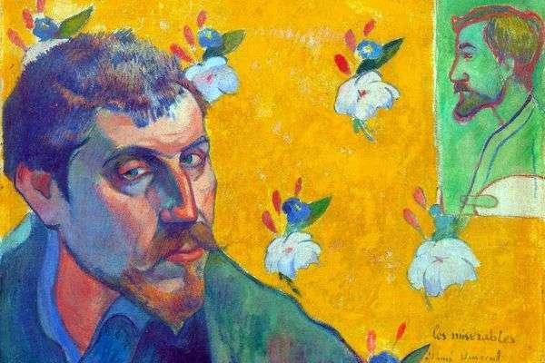 自画像 Les Miserables(アウトキャスト)   Paul Gauguin