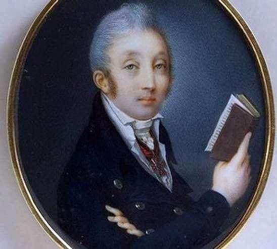 カウントM. M. Speranskyの肖像   P. A. イワノフ