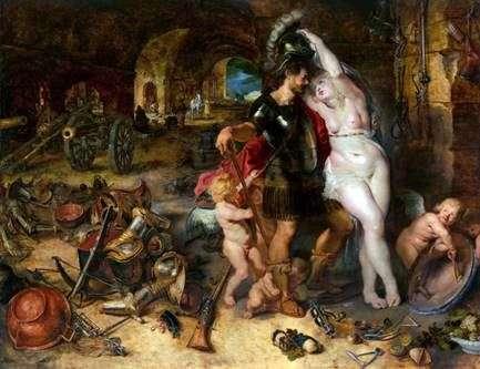 火星は金星に武装解除   Peter Rubens