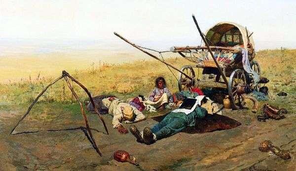 路上で。移住者の死   セルゲイイワノフ