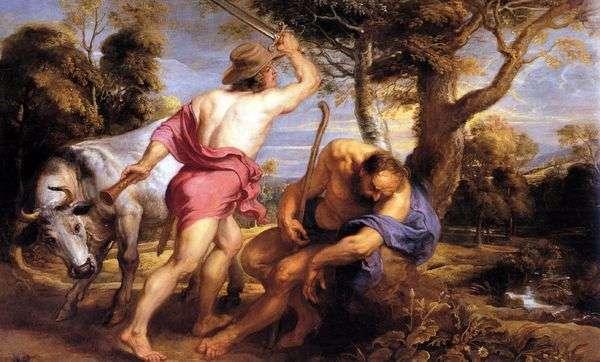 水星とアーガス   ピータールーベンス