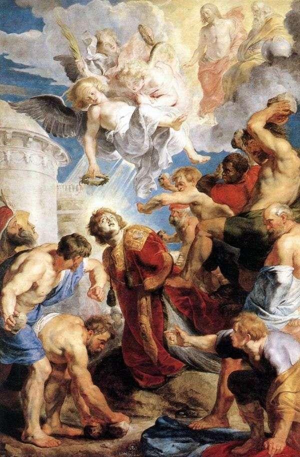 聖ステファンの殉教   Peter Rubens
