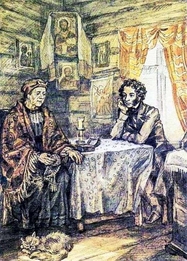 プーシキンとアリーナRodionovna   ユリイワノフ