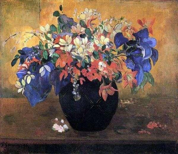 フラワーブーケ   Paul Gauguin