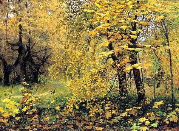 黄金の秋   イリヤオストルーホフ