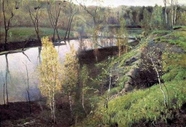 最初のグリーン   Ilya Ostroukhov