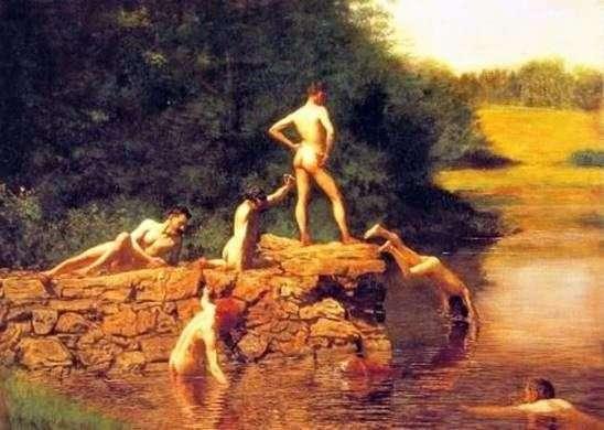 水泳(池)   トーマスイーキンズ