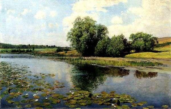 正午の川   Ilya Ostroukhov