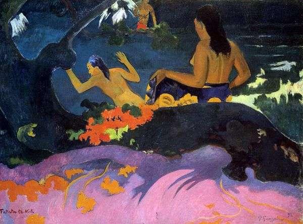 海のそば   Paul Gauguin