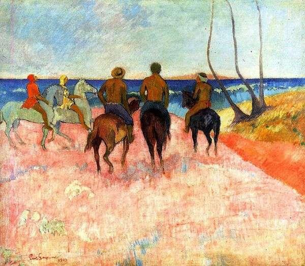 ライダーズ・オン・ザ・ショア   Paul Gauguin