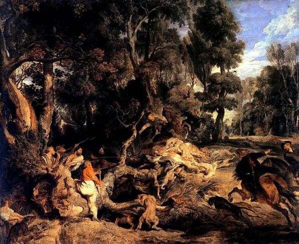 イノシシ狩り   Peter Rubens