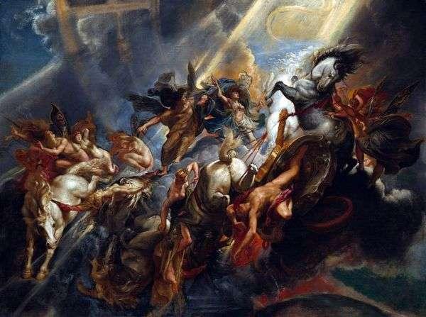 フェートンの崩壊   Peter Rubens