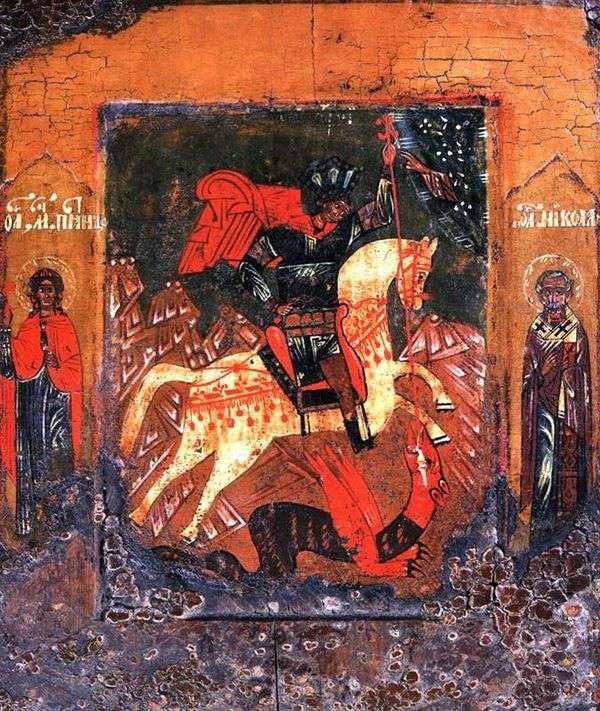 聖ジョージの蛇についての奇跡、Paraskeva FridayとNicolaが奇跡を起こした畑
