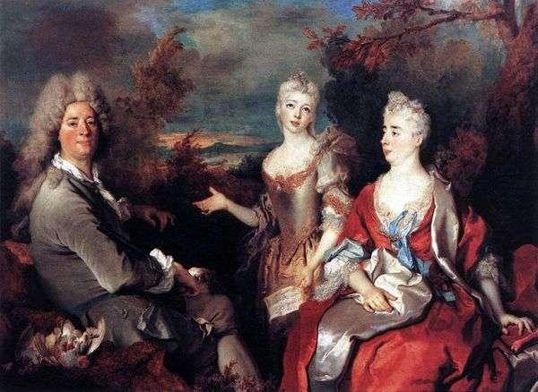 家族の肖像   Nicola de Largillera