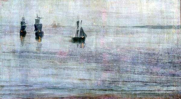 Nocturne:Le Solent   ジェームズウィスラー