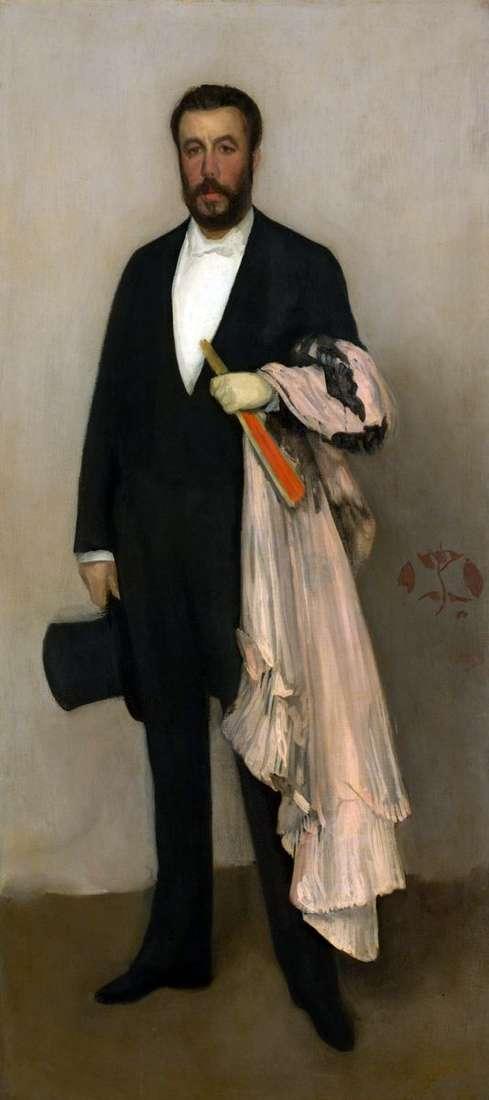 Theodore Dure   James Whistlerの肖像
