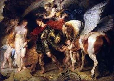 ペルセウスとアンドロメダ   Peter Rubens