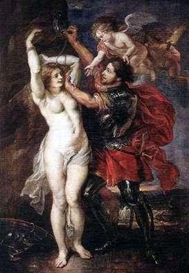 ペルセウス解放アンドロメダ   Peter Rubens