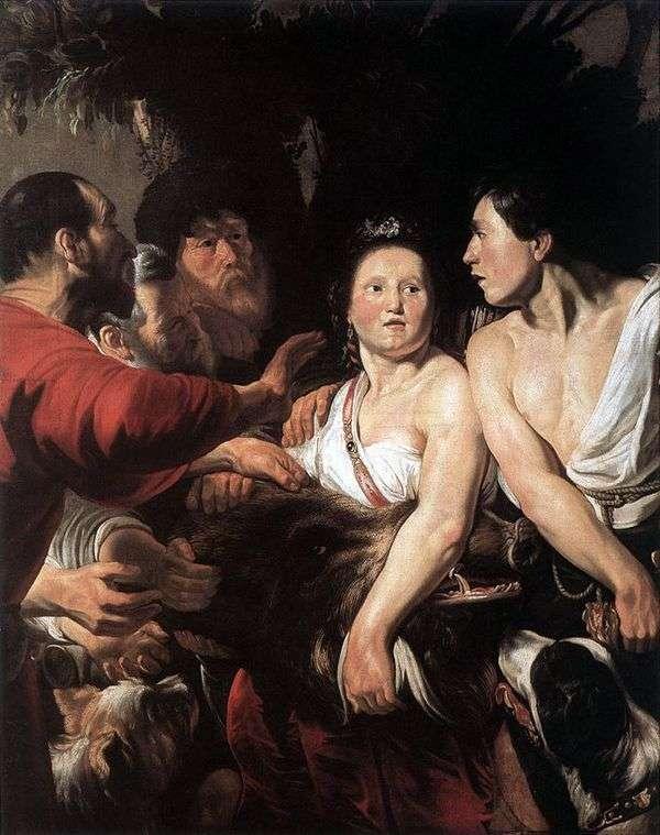 Meleager and Atalanta   ジェイコブヨルダン