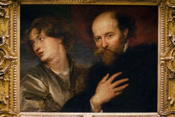 Anthony Van DyckのPeter Rubens   Peter Rubens