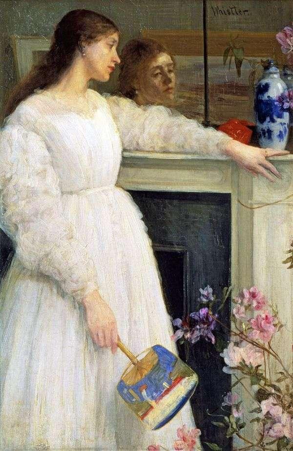 白の交響曲第2番:白の女   ジェームズ・ウィスラー