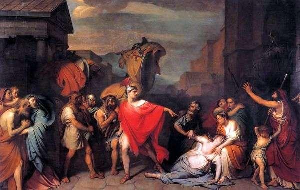 カミラ、ホレスの姉妹の死   セオドア・ブルーニ