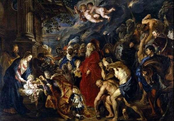 マギの崇拝   Peter Rubens