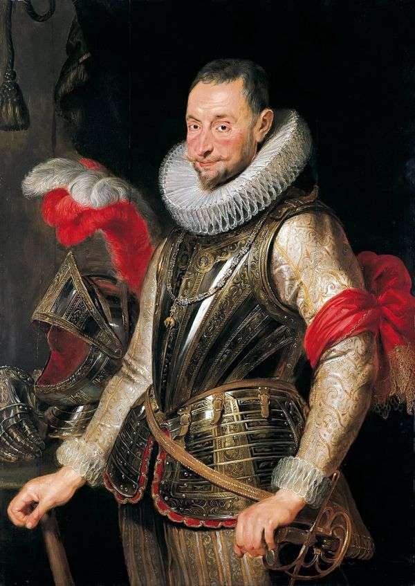 A. スピノーラの肖像   Peter Rubens