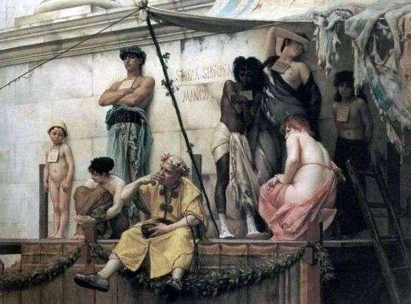 奴隷市場   グスタフ・ルドルフ・ブーランジェ