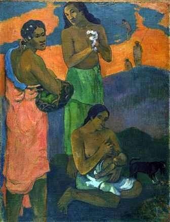 海沿いの女性たち(マタニティ)   Paul Gauguin