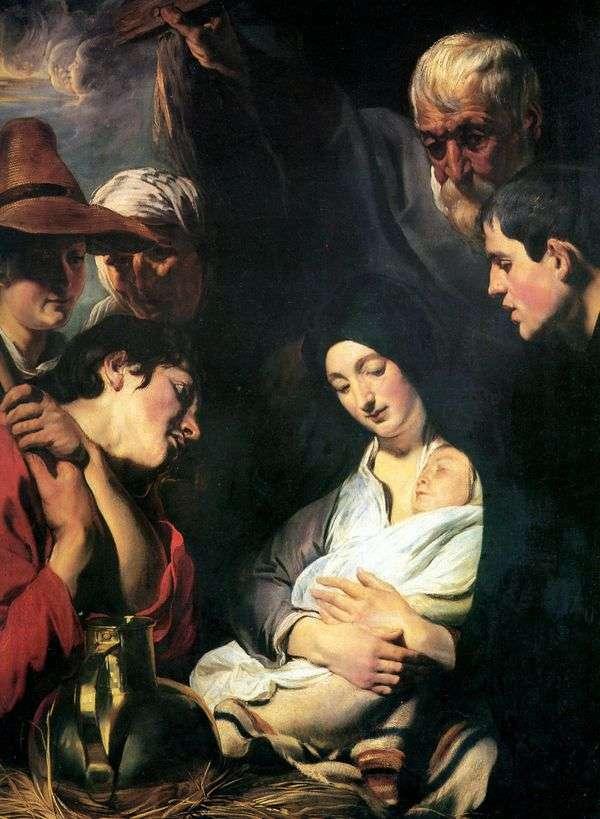 羊飼いの礼拝   Jacob Jordaens