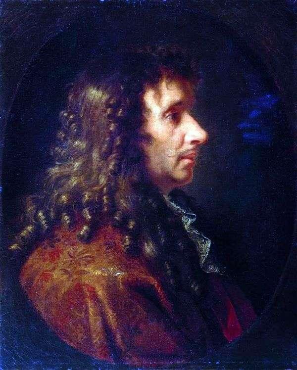 モリエール   シャルルルブランの肖像